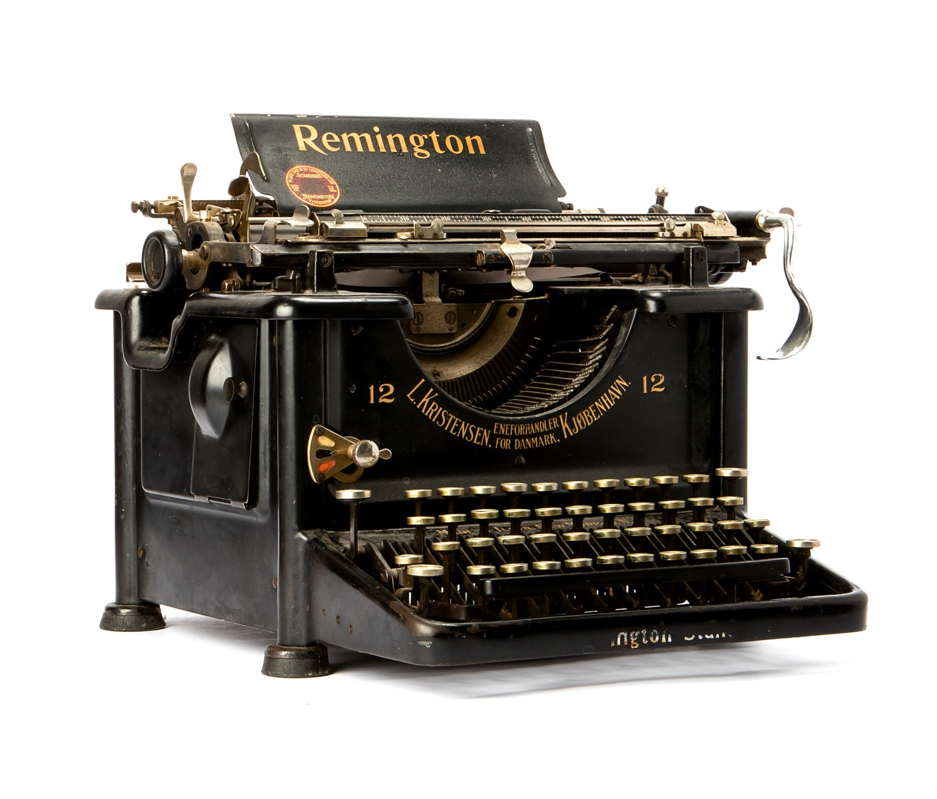 old Remington typewriter